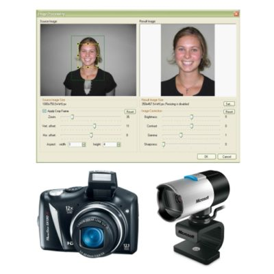 Complete-ID-Badge-Camera-System