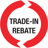 Trade In Rebate graphic