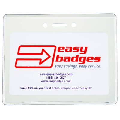 Vinyl-Badge-Holder-Horizontal-Heavy-Duty-Clear-Information-153189