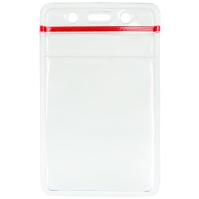 Clear-Vinyl-ID-Badge-Card-Holder-Zipper-1815-1110