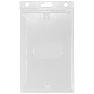 Clear-Hard-Plastic-ID-Badge-Card-Holder-Vertical-726-CSN