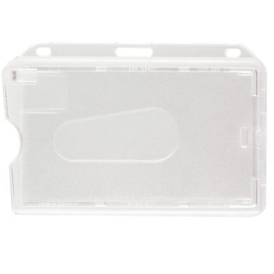 Frosted-Hard-Plastic-ID-Card-Badge-Holder-Horizontal-706-T1