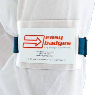 Clear-Vinyl-Armband-ID-Badge-Holder-Blue-Attachment-152182NBL