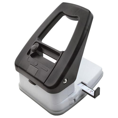 Small 3 in 1 Table Top Slot Punch w/Adj Guides
