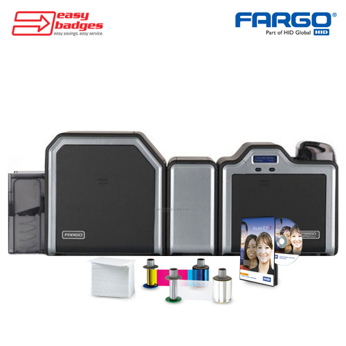 Fargo HDP5600 Complete Dual Sided ID System with Single Side Lamination
